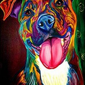 Diamond Painting Hond Labrador