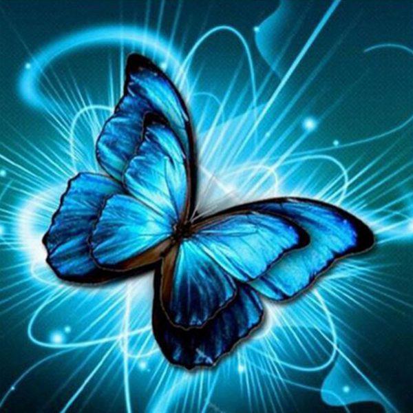 Diamond Painting Vlinder