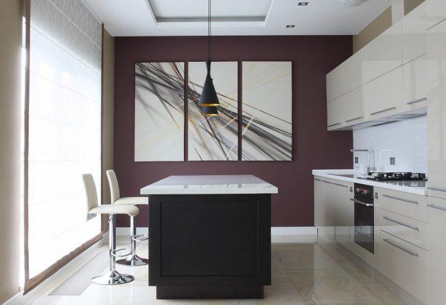 Foto op canvas voor keuken