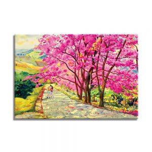 foto op canvas - kunst - bomen - 27a