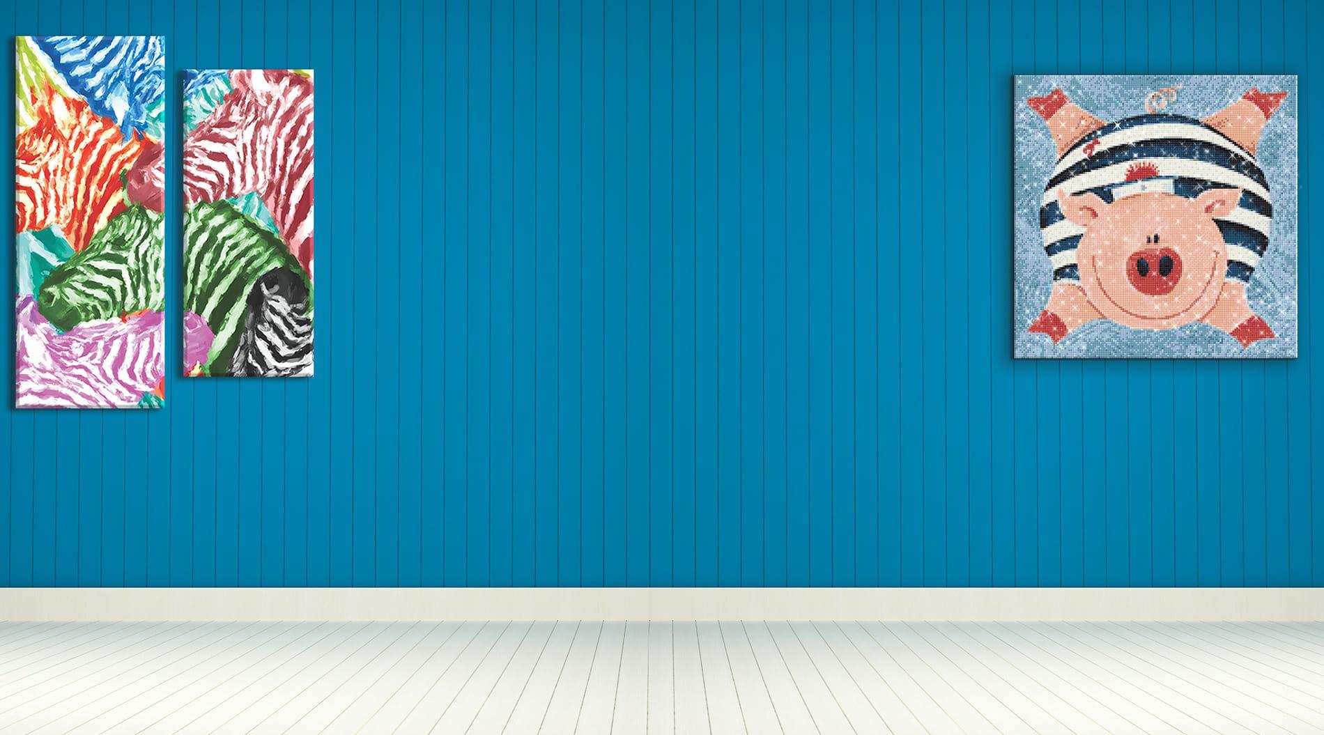 Foto op canvas en Diamond Painting Pakketten Banner