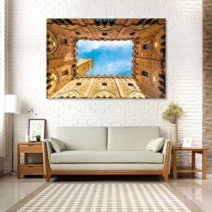 Wanddecoratie van canvas foto van muren