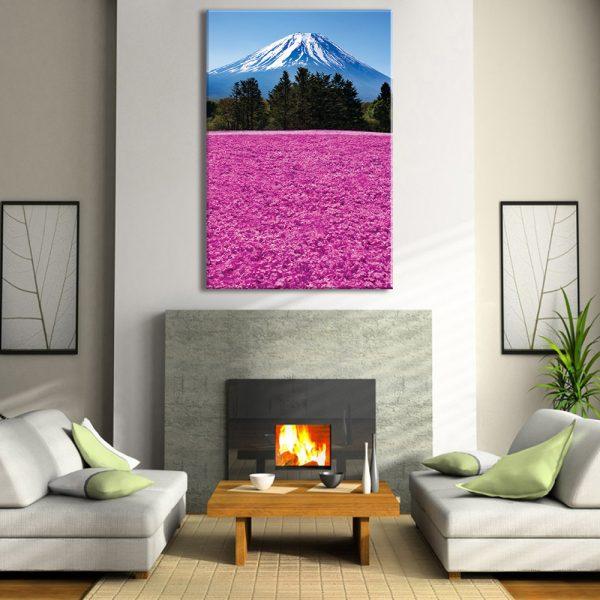Foto op canvas van natuur voor interieur