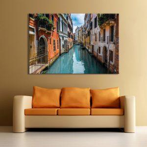 Venetië op canvas voor muurdecoratie