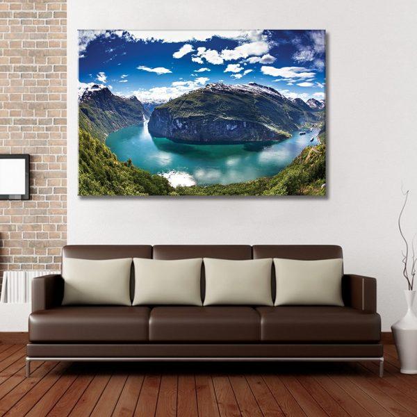 Foto op canvas, interieur, natuur