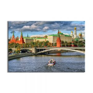 Canvas foto van Moskou