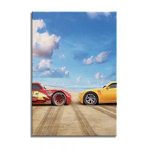Cars op canvas voor kinderen
