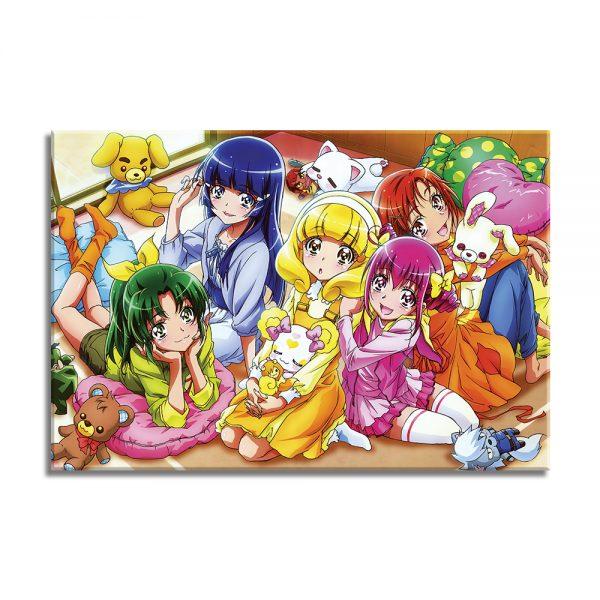 Foto op canvas voor kinderen, anime