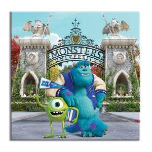 Foto op canvas voor kinderen van monsters voor decoratie