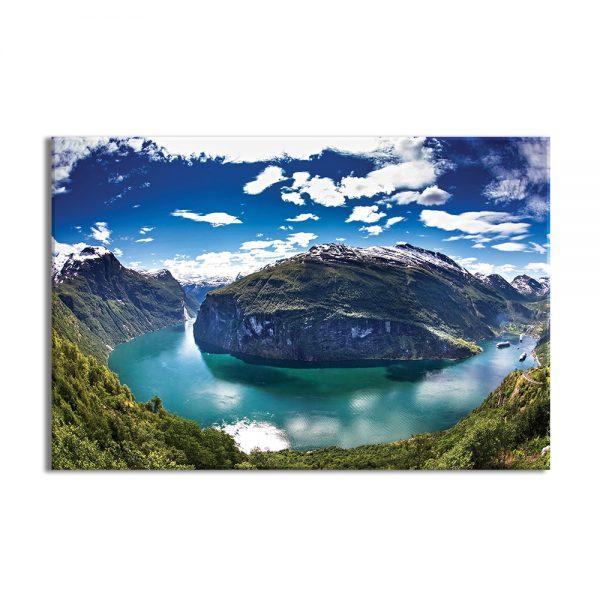 Canvas foto van natuur