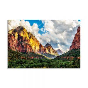 Foto op canvas van bergen