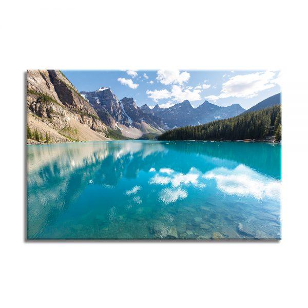 Foto op canvas van natuur - meer